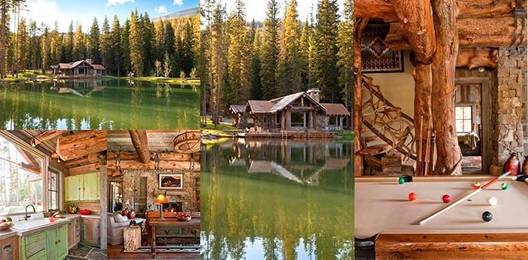 Casa in legno sul lago for Planimetrie della piccola casa sul lago