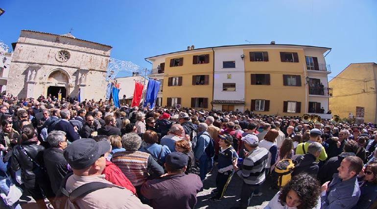 La Festa dei Serpari di Cocullo in onore di San Domenico di Sora