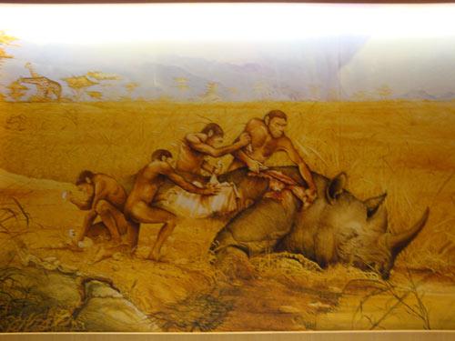 Hunting-cave-men