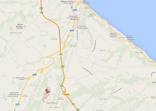 Treglio-google-maps