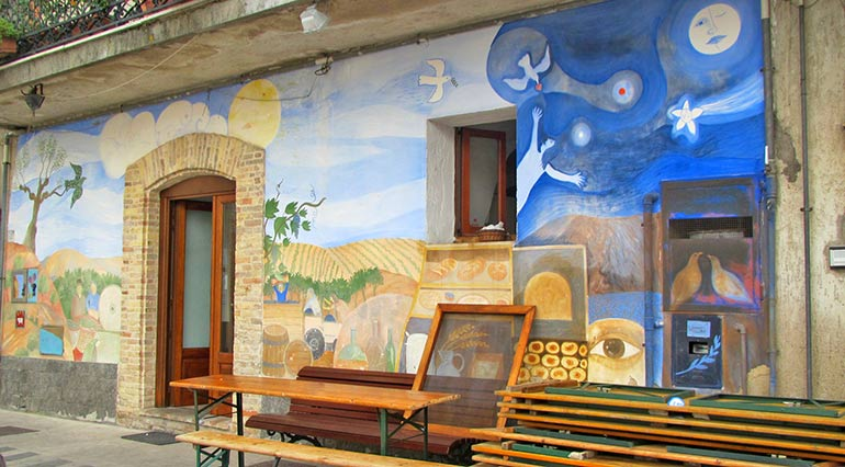 Treglio, Chieti, Abruzzo – Borgo Rurale, la Festa del Vino Novello, Castagne e Olio