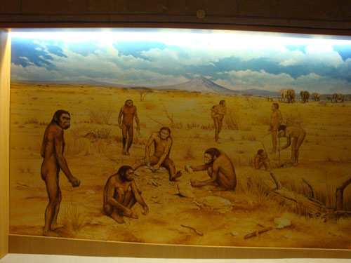 Uomini-museo-paleolitico-Molise
