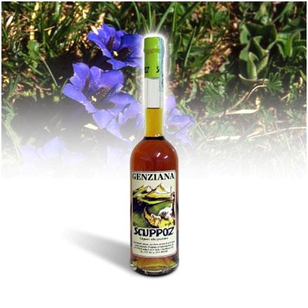 Genziana-Scuppoz-liquore-abruzzo