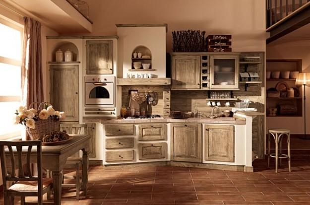 Arredamento-rustico-cucina