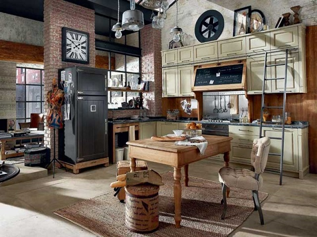 Arredare casa for Arredamento cucina country