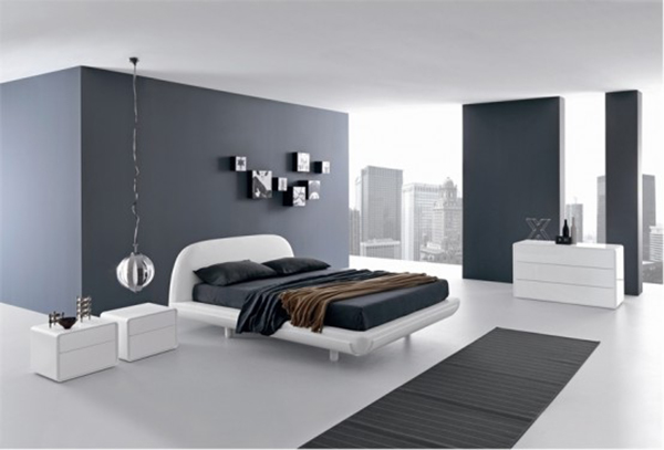 Arredamento Minimalista Camera Da Letto : Foto camera da letto con arredi e pavimento in legno di rossella