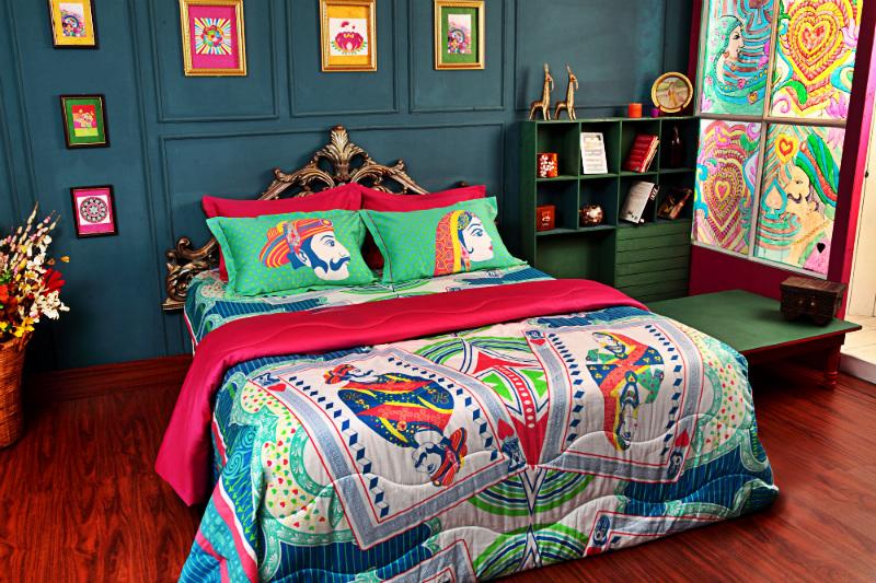 camera-da-letto-pop-art