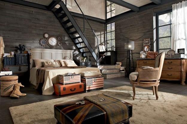 camera-da-letto-urban-chic