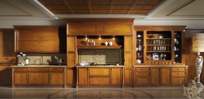Arredare casa - Arredamento cucina classica ...