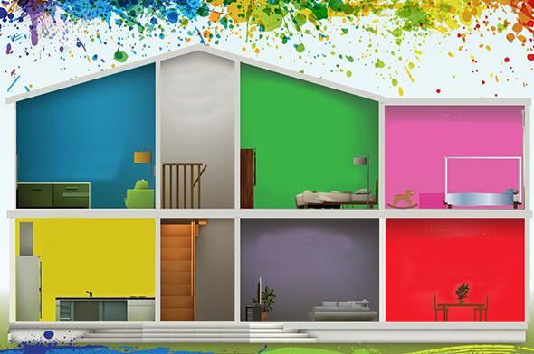 Colorare le pareti di casa con tendenze alla moda - Colorare pareti casa ...