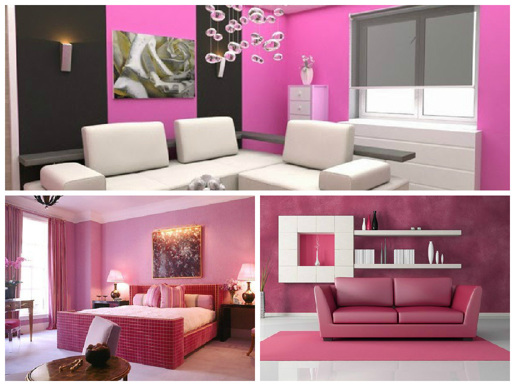 Pareti Rosa Salmone : Colorare le pareti di casa con tendenze alla moda