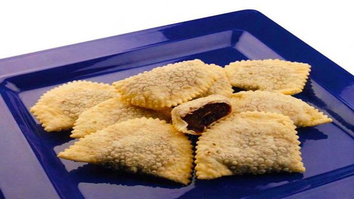 Cagionetti dolci tipici abruzzesi (caggiunitt)