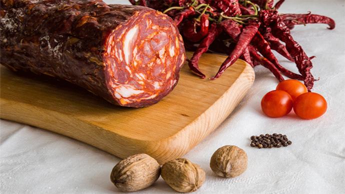 La ventricina è un prodotto tipico del territorio abruzzese