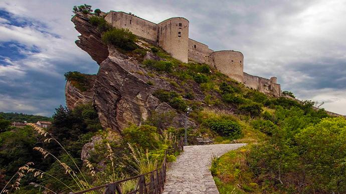 Il Castello di Roccascalegna nel cuore dell'Abruzzo