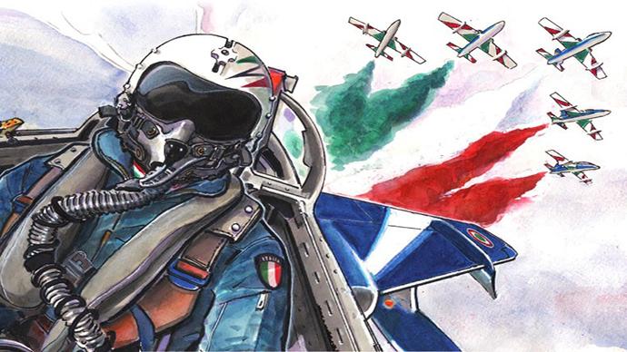 AIR SHOW 2015 Città del Vasto – Frecce Tricolori