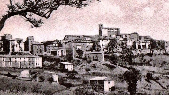 Il paese di Fraine nella Regione d'Abruzzo in Provincia di Chieti