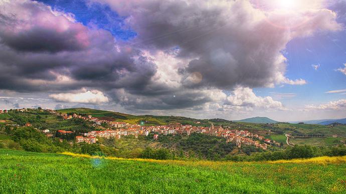 Castelbottaccio comune Molisano, di origine medievale