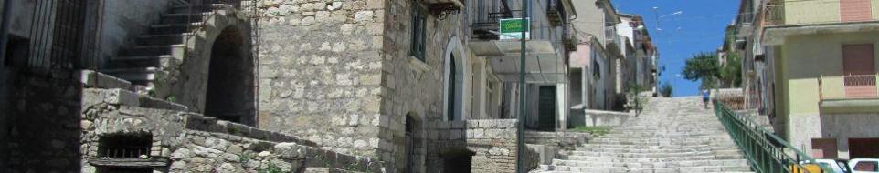 foto limosano scalinata