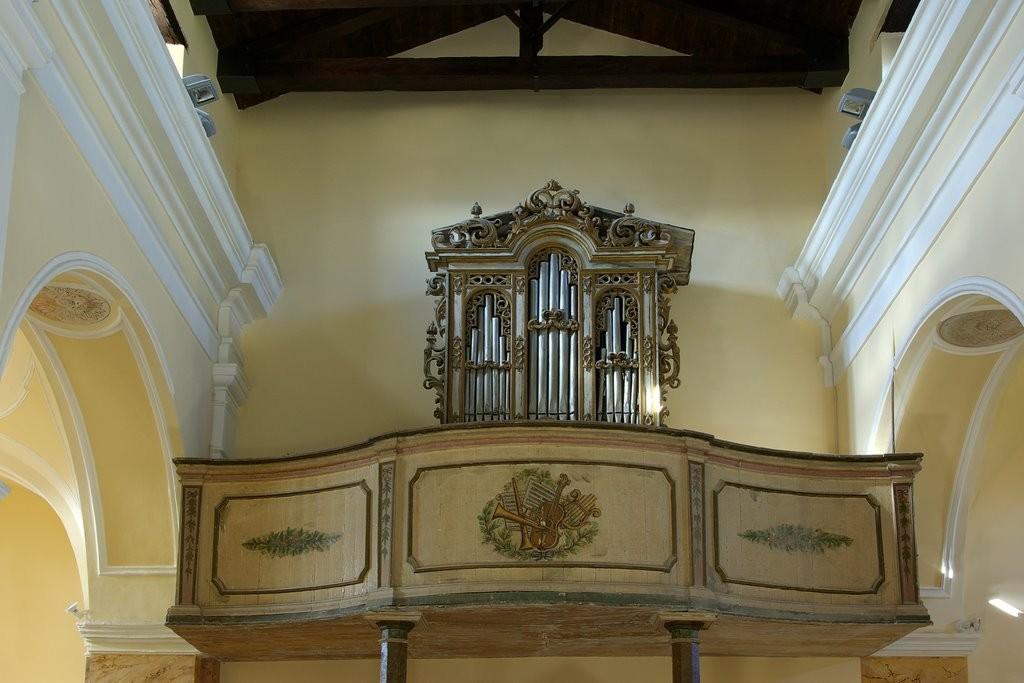 Bagnoli del Trigno San Silvestro organo