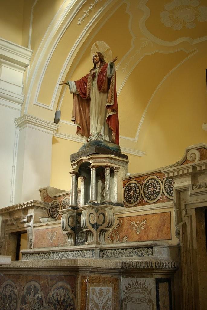 Bagnoli del Trigno altare chiesa San silvestro