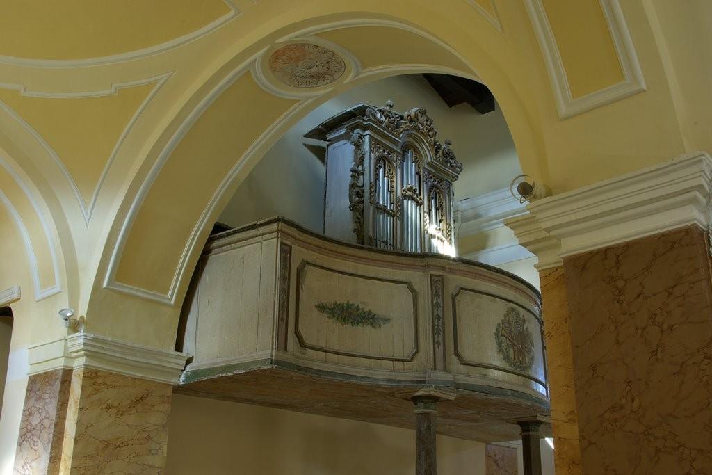 Bagnoli del Trigno organo chiesa San Silvestro