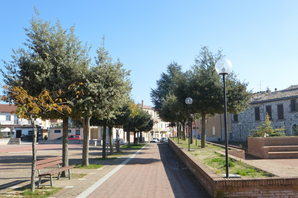 Piazza Busso Molise