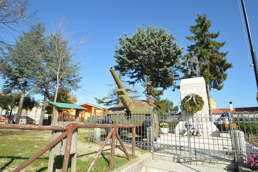 monumento ai caduti Busso