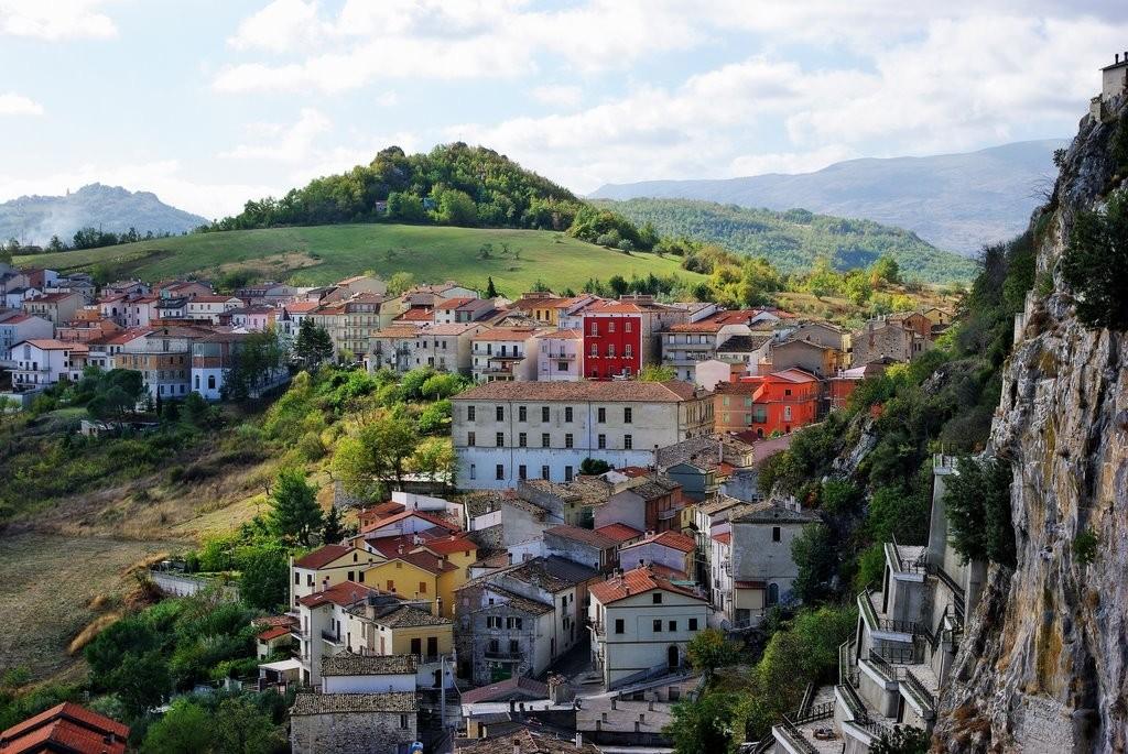 panorama chiesa San Silvestro Bagnoli del Trigno
