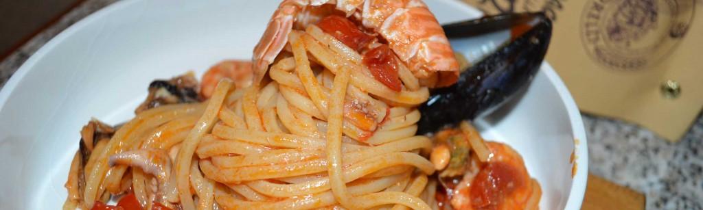 spaghetti alla chitarra con seppie