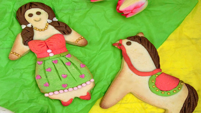 La pupa e il cavallo dolci Pasquali abruzzesi