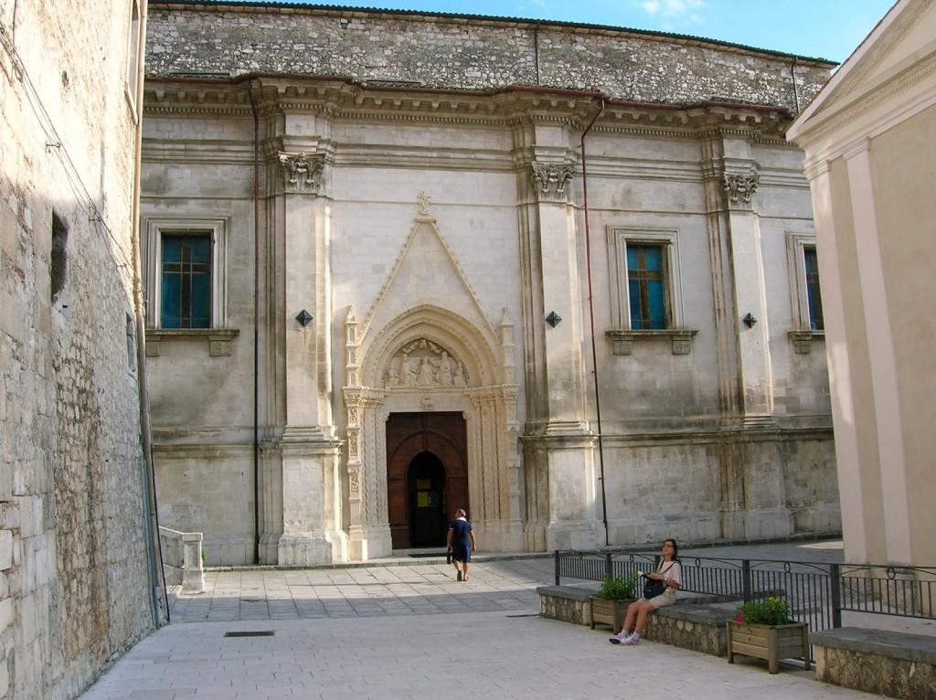 caramanico terme chiesa santa maria maggiore